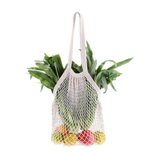Mesh Net String Shopping Bag Cotton Totes Shopping Bags Foldable Reusable Shopping bags Fruit Storage Handbag Home Storage Bag