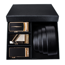 Brand Box Belt Men 2019 New Fashion Gold Belts High Quality Genuine Leather Belt Men's Male Cowboy Waist Leather Belt Black belt male casino cas12 fact black black