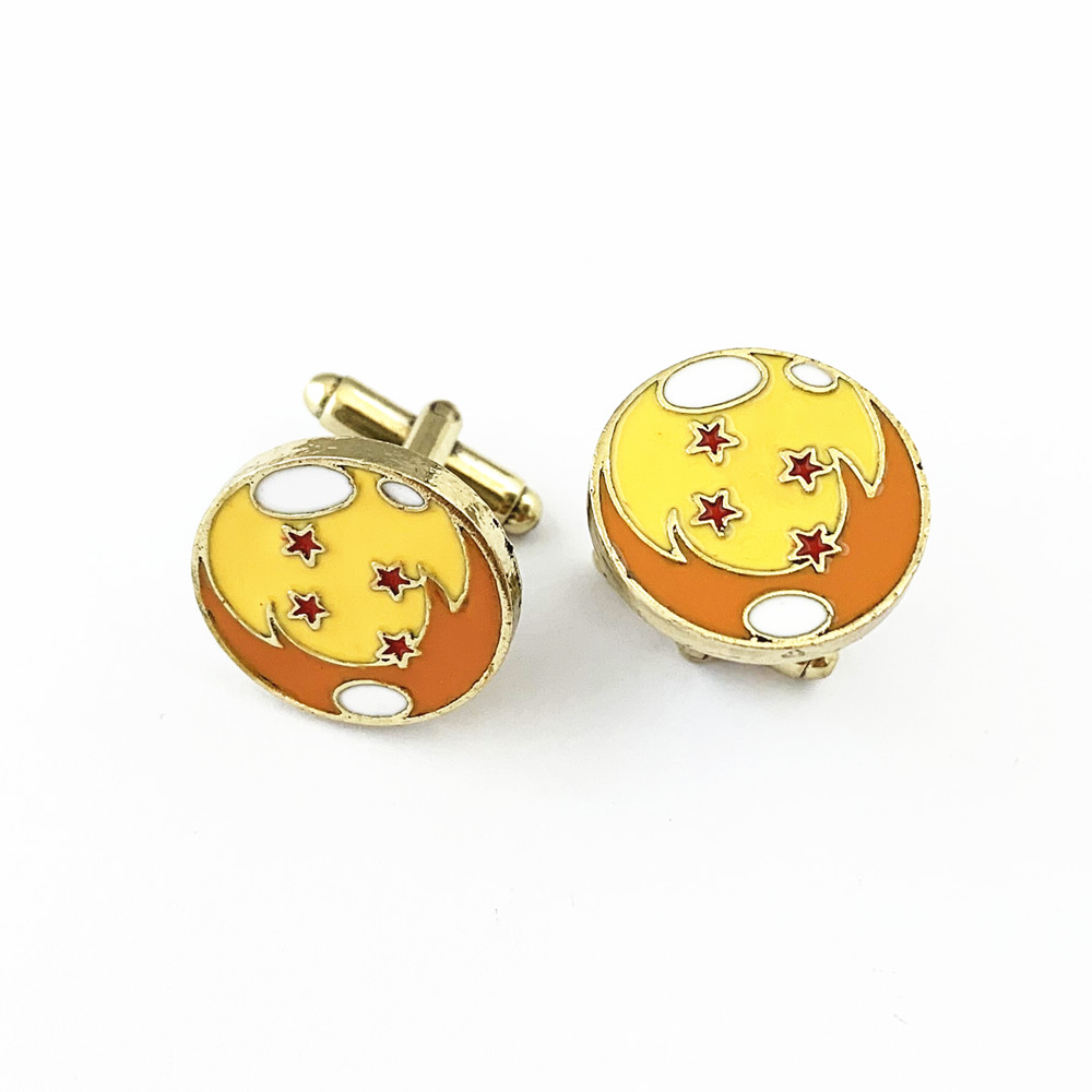 FANTASY UNIVERSE Freeshipping 1Pair a lot Dragon Ball Cufflinks DHRHR02
