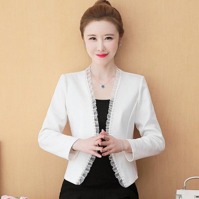 Long Sleeve Jacket Women Jackets For Women 2021 Beading Outwear Woman Jacket Cardigan Coat Women Autumn Winter Women Jacket D540 3