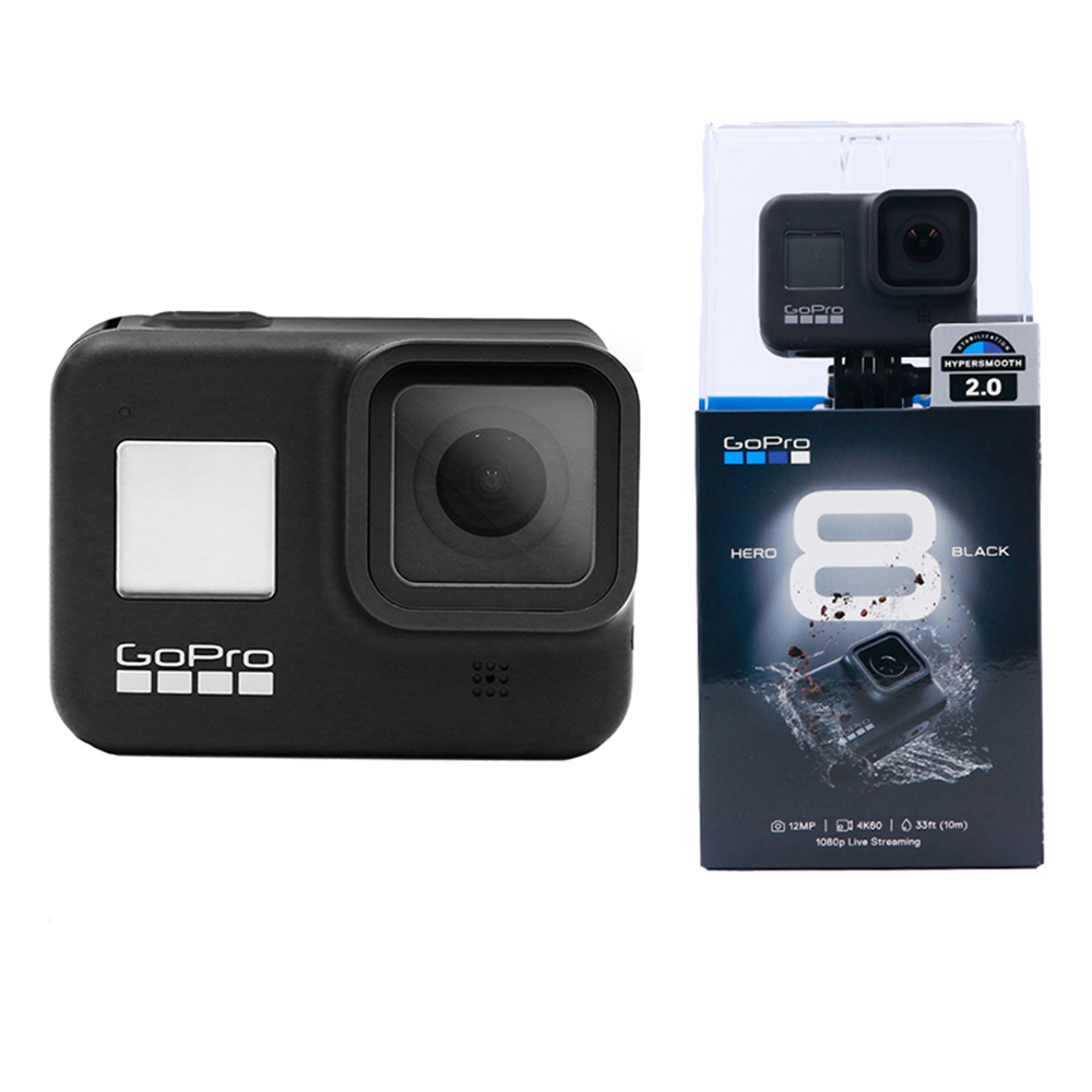 Gopro HERO 8 Black Action Camera Outdoor Sports Camera with 4K Ultra HD Video Live Streaming Stabilization 1