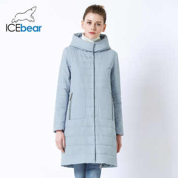 ICEbear 2019 new ladies Fall coat  women hooded cotton  warm women jacket high quality brand female hooded GWC19038I - DISCOUNT ITEM  66% OFF All Category