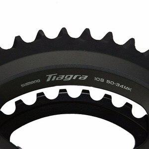 Image 4 - Shimano Tiagra 4700 כביש 165/170/172.5/175mm 50 34T 52 36T אופני אופניים Fullset 2x10 מהירות Groupset שיפטר בלם קלטת שרשרת