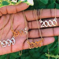 2019 Coliier Femme 2000, 2001, 2002, 2003, 2004, 2005, 2006, 2007, 2008, 2009, 2010, 2011, 2012, 2013, 2014, 2015, 2016, 2017, 2018 años de collar