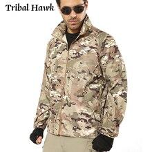 Summer Tactical Camouflage Jacket Men Waterproof Thin Hood Raincoat Windbreaker