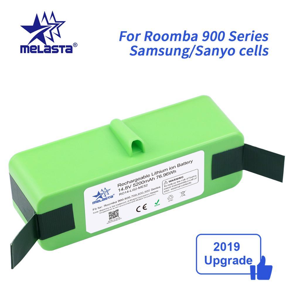 Литий-ионный аккумулятор 14,8 в 5,2 Ач для iRobot Roomba 900 Series 980 985 981 960 961 964 966 895 970 896 886 871 776 760 696 691 671 616