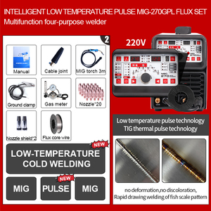 Image 2 - ANDELI Multi function Welding Machine MIG TIG pulse MMA and Cold Welding 4 in 1 Multi function Cold Welding Machine