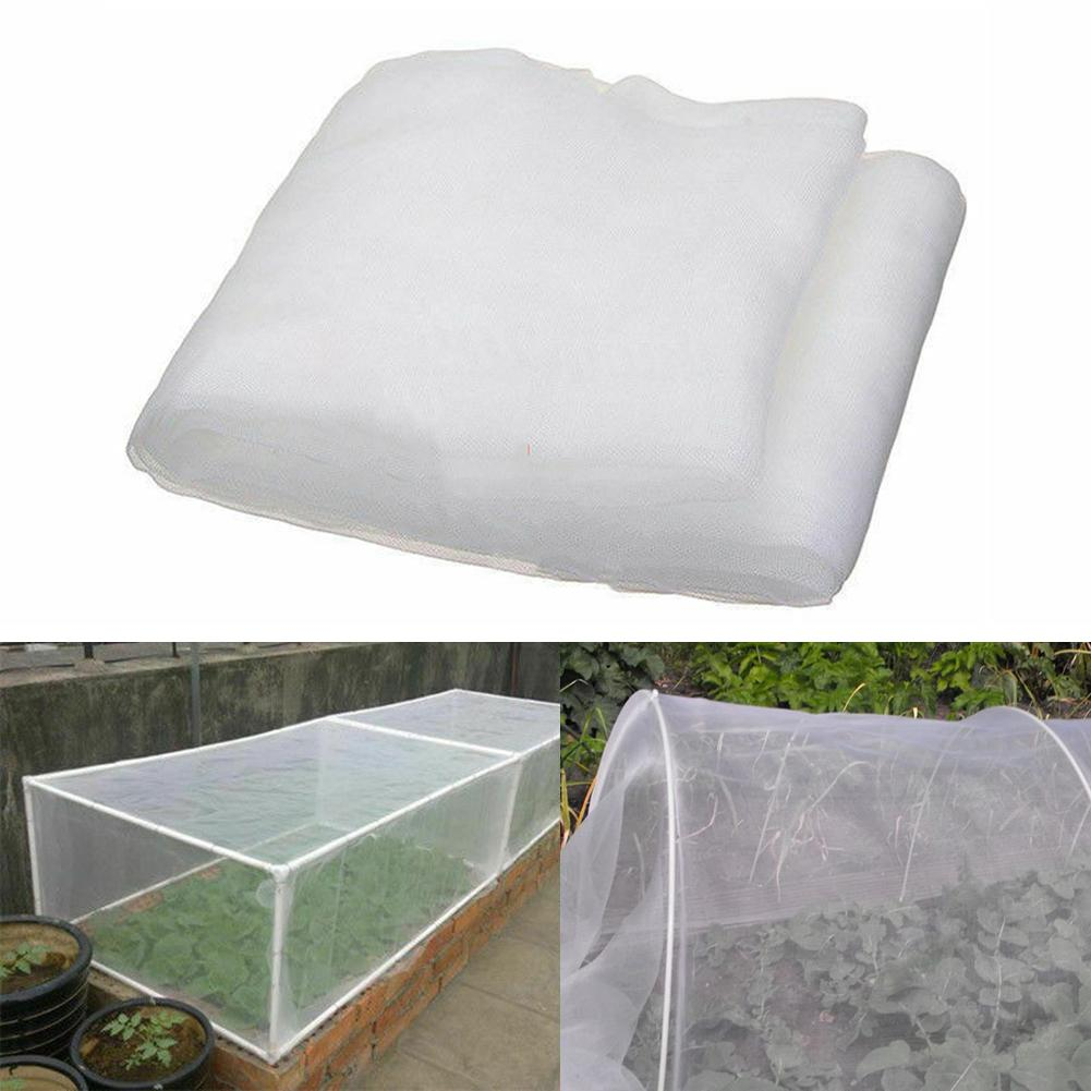 Super Fine Anti Bugs Insect Bird Greenhouse Vegetable Garden Mesh Net Vent Cover