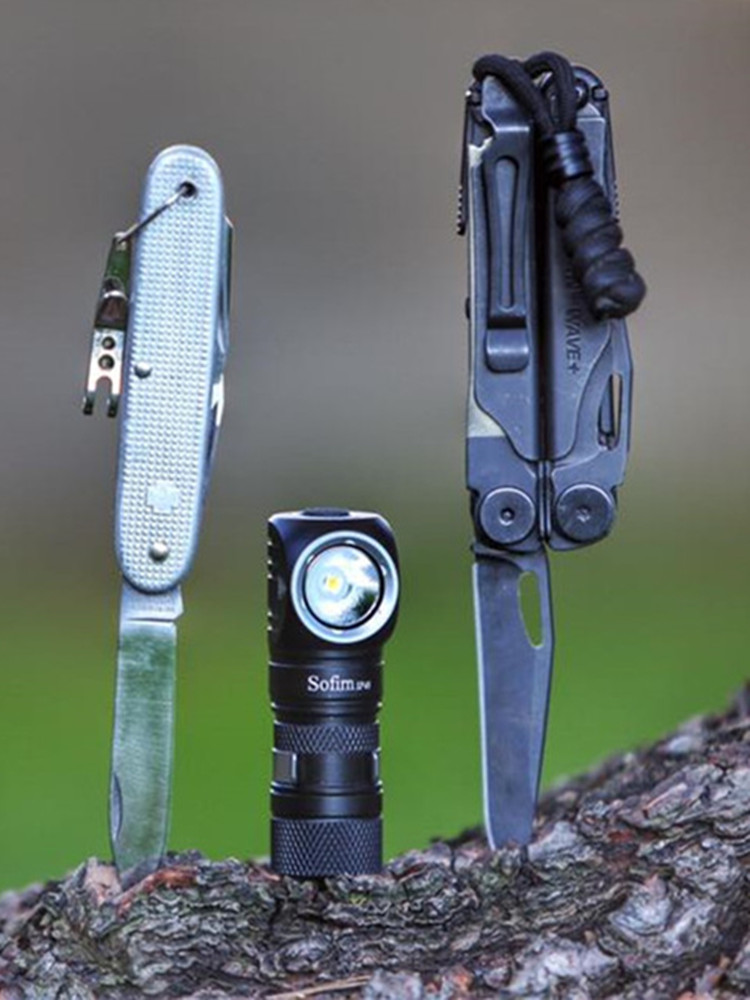 Sofirn LED Headlamp Magnet-Tail 18350-Flashlight Power-Indicator 18650 Usb Cree Xpl 1200lm