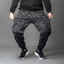 Модные брюки для девочек Одежда для пребывания на открытом воздухе для мужчин повседневные штаны для бега Мужская Военная камуфляжная форма большие размеры для мужчин 5xl 6xl 7xl
