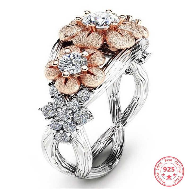 S925 เงินแหวนเพชรสีกล่องสำหรับผู้หญิง 2 กะรัต Peridot Anillos Bizuteria อัญมณี Topaz Bizuteria Silver 925 แหวนเพชร