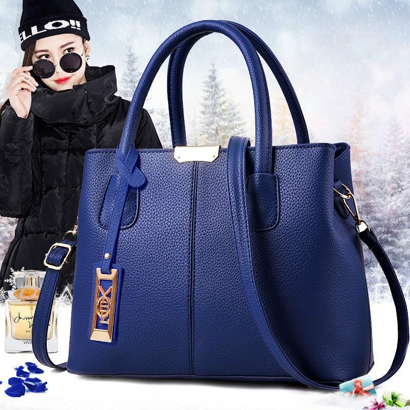 High Quality Women Bag PU Leather Handbags Ladies Shoulder Bag Females Tote Messenger Bags Crossbody Female New Tote Bag