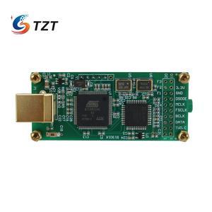 Image 3 - Amanero 인터페이스 + ES9038Q2M 오디오 디코더 보드 용 TZT 오디오 HiFi USB 사운드 카드 지원 DSD256 PCM 384Khz