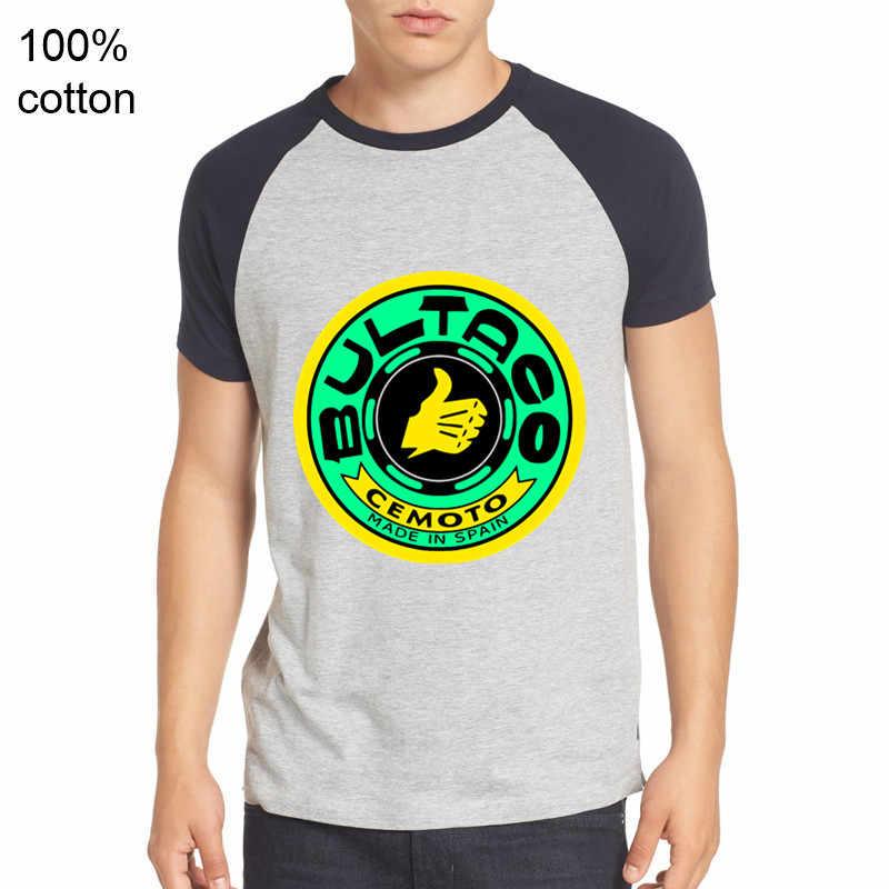 2019 רטרו מזדמן Bultaco Pursang T חולצות גברים Bultaco Pursang לוגו חולצה Spainish אופנוע טי סופר מנוע טי חולצה hombre