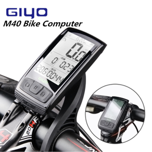 Image 1 - GIYO M40 Computer Wireless Bluetooth4.0 Bicycle Computer Mount Holder Bicycle Speedmeter Speed/Cadence Sensor With Magene HRM