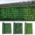 Искусственный Плющ забор из листьев чистый зеленый укроп листьев поддельные балконные растения забор для сада украшения дома декор стен