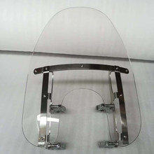 Motorcycle 39mm Remove the windshield quickly For Harley Sportster XL883 XL1200 X72