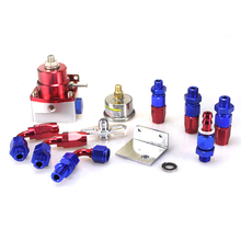 Universal Aluminum Alloy fpr an6 fitting adjustable high fuel pressure regulator