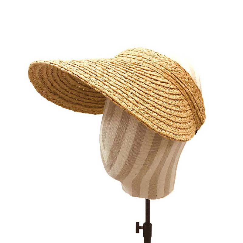 Fibonacci 2020 New Hot Fashion Shade Raffia Straw Empty Top Beach Hats Female Summer Bow Sunscreen Folding Women Sun Hat