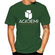 Triplo dossel academicamente militar camisa preta de t S-3XL 2021 lazer moda camiseta 100% algodão