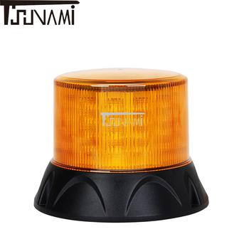 Universal Beacon Light LED Flashing Warning Light Car Bus Truck Magnetic Emergency Strobe Indicator Lights Top Roof Warning Lamp фото