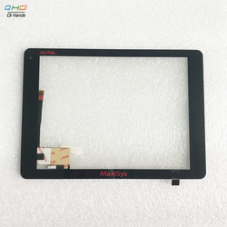 New Touch screen P/N WGJ97134-V1 F-WGJ97145-V2 F-WGJ97145-V1A DT0097111 FPC V01 For AUTEL ms908 Touch screen with back glue