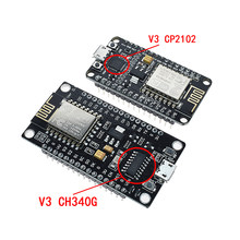 New Wireless Module CH340 CH340G / CP2102 NodeMcu V3 V2 4M Lua WIFI Internet of Things Development Board Based ESP8266