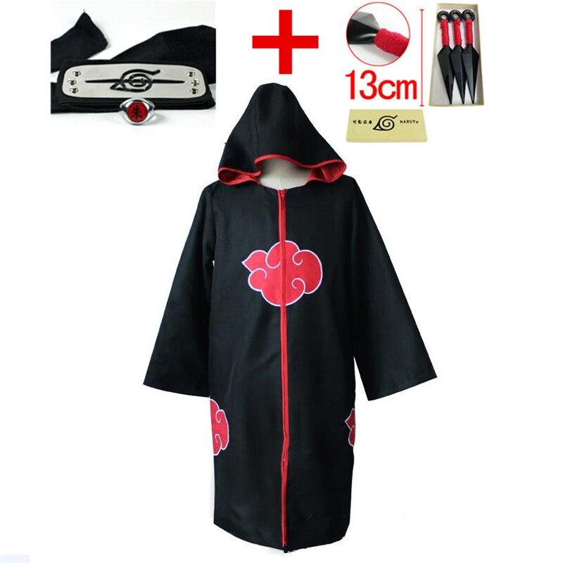 Kakashi – combinaison de Cosplay Akatsuki Ninja Taka/Hebi serpent Uchiha Sasuke, manteau à capuche + bandeau + anneau + combinaison shuriken