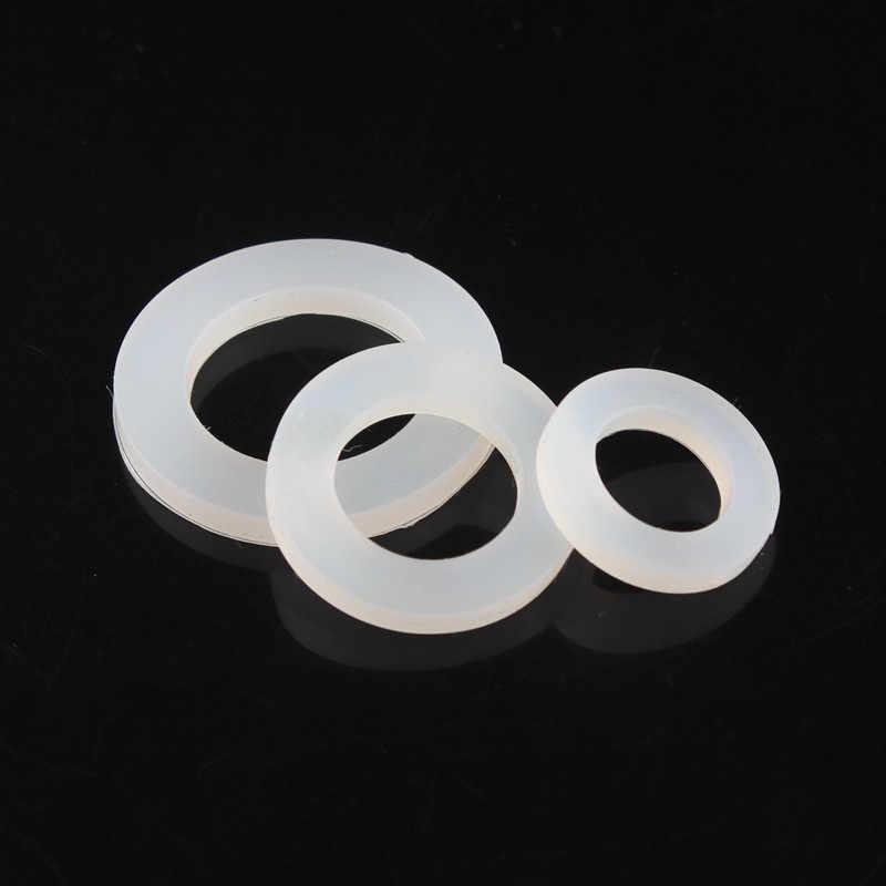 """20 piezas 1/4, 3/8, 1/2, 3/4 1 pulgada sello junta plana """"O"""" Sello de anillo abajo tubo lavadora anillo para ducha de fontanería grifo de manguera de lavadora"""
