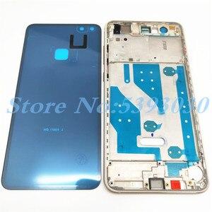 Image 2 - Wysokiej jakości pokrywa baterii P10 Lite dla Huawei P10 Lite pełna obudowa tylna szklana tylna obudowa + przednia rama LCD z bocznym kluczem