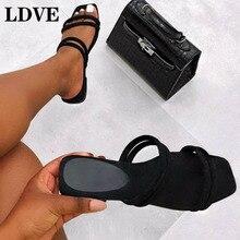 Summer Sandals Women Flat Shoes Open-toe Sandalias Roman Sandals Woman Casual Shoes Ladies Flip Flops Footwear Slides Slippers стоимость
