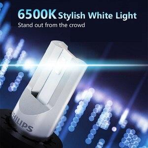 Image 2 - 2X Philips Ultinon Ätherisches G2 LED 6500K H1 12/24V 19W P 14,5 s Weit und in der nähe von licht Original lampe Super weiß licht 11258UE2X2