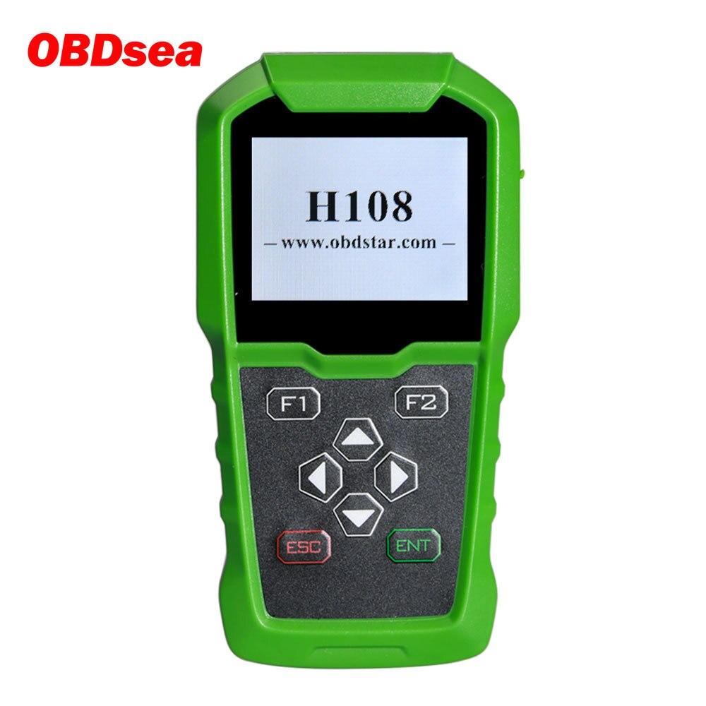 OBDSTAR H108 PSA Programmierer Support Alle Schlüssel Verloren/Pin-Code Lesen/Cluster Kalibrieren für Peugeot/Citroen/ DS Unterstützt Können & K-linie