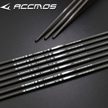 12pcs New ID 3.2 Carbon Arrow  Shaft Spine 350 400 500 600 700 800 900 Pure  Carbon Archery for Recurve Bow Shooting