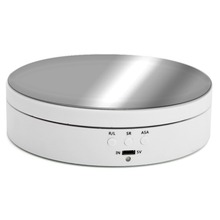 360 Degree Round Rotating Turntable Display Stand Photograph