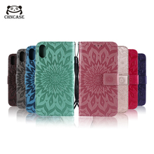 CHNCASE Magnetic Leather Phone Case For iPhone X XSMAX XR 5 5s SE 6 6s 7 8 Plus 11 Pro Printing Flip Wallet Cover Cases