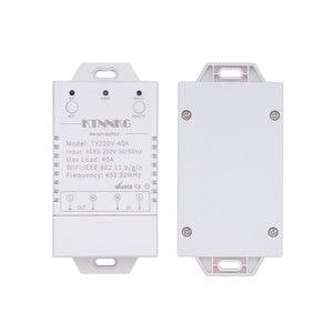 Image 2 - 433Mhz 40A TUYA Smart Life APP WIFI 1Gang 4000watts AC90 250V dernière version contrôle haute puissance climatiseurs, pompes, eau