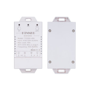 Image 2 - 433Mhz 40A Tuya Smart Leven App Wifi 1Gang 4000 Watt AC90 250V Nieuwste Versie Controles High Power Airconditioners, pompen, Water