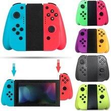 Mando inalámbrico con conmutador de juego, gamepad Bluetooth izquierdo y derecho para Nintendo Switch NS, joystick con mango para cambiar, control para videojuego