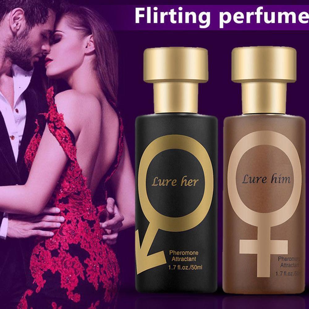 Pheromones Flirt Help Temptation Perfume 50ml Unleash The Unique Charm And Enhance The Attraction To Him/Her