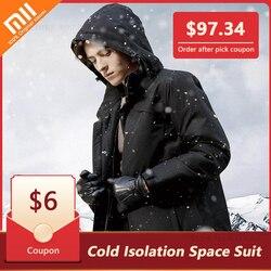 Xiaomi DMN холодная изоляция космический костюм материал аэрогелевая куртка машинная стирка-196 Deg. C морозостойкость мужская одежда горячая расп...