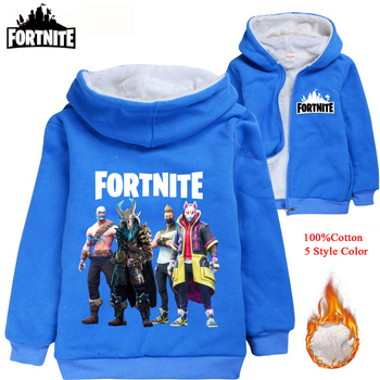 купить Fortnite Clothes Outerwear Baby Boy Autumn Clothes Girls Winter Coat Windbreaker Warm Coat Fashion Kids Jacket Print Hooded Coat в интернет-магазине