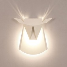 LED wall lamps tauren adornment bedroom the study corridor restaurant cafe wall lamp modern style wall light for home decoration