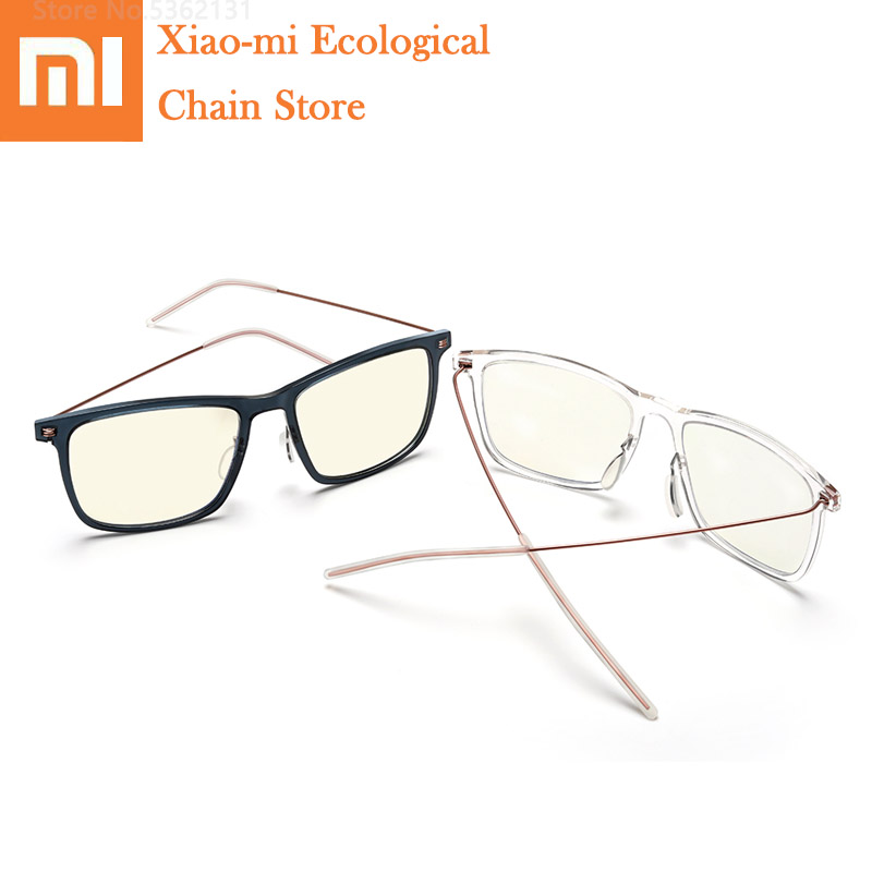 Anti-azul-raios de Vidro Protetor para Jogar Xiaomi Mijia Anti Azul Proteger Óculos Pro Aliviar Fadiga Olho Telefone – Computador Jogos Ray
