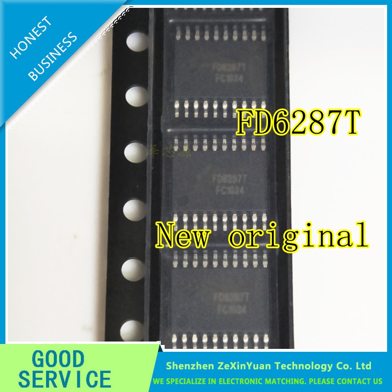 10PCS/LOT FD6287T FD6287 TSSOP-20 New Original 250V Three-phase Gate Driver