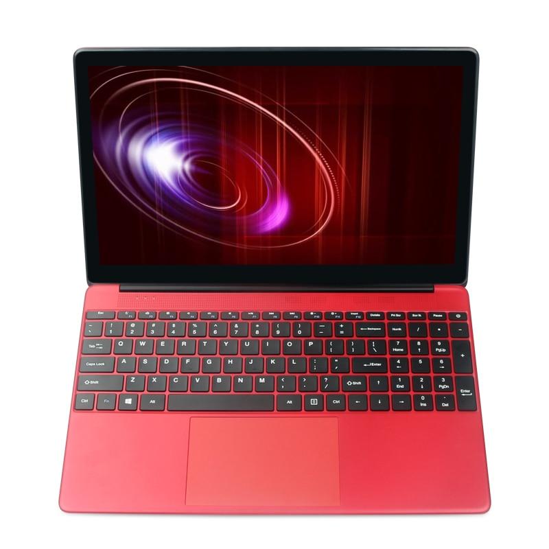 15.6 Inch Ultrathin Laptop 8G RAM+128GB SSD+2000GB HDD Intel Quad Core CPU 1920X1080 P Full HD Fast Run Laptop Notebook Computer