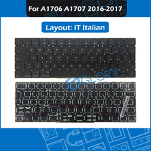 For Macbook Pro Retina 13″ 15″ Late 2016 Mid 2017 Touchbar A1706 A1707 IT Italian standard Keyboard Replacement