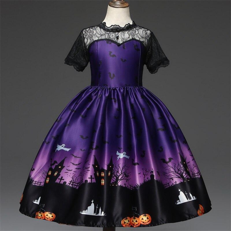 H832ee265c3c6452184f6ea1d70d6c5b9y Girls Elsa Dress Costume Princess Anna Dresses Cosplay Party Summer Baby Kids Children Fancy Baby Girl Clothes elza vestidos