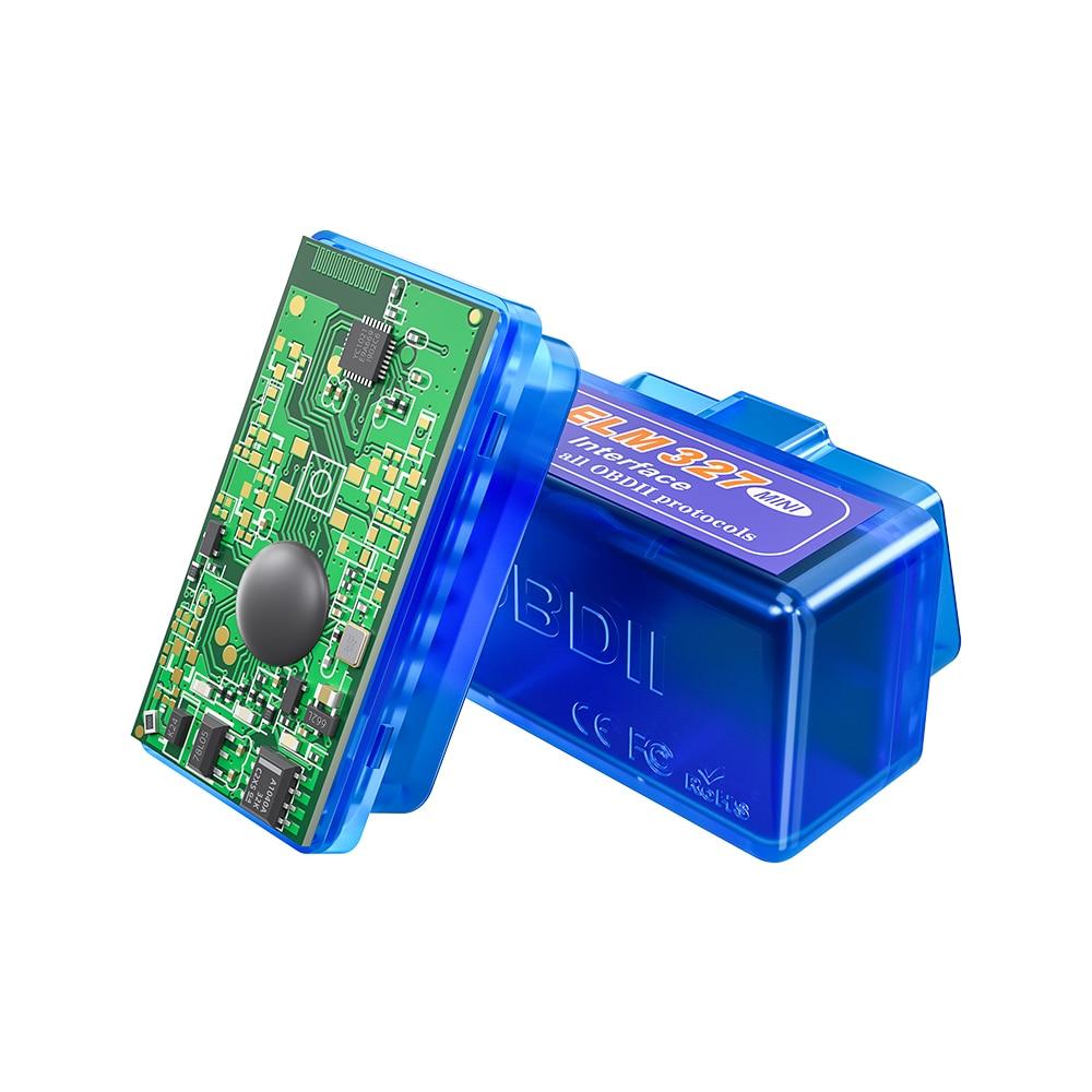 OBD ELM327 Bluetooth OBD2 сканер Android Считыватель кодов ELM327 V1.5/2,1 Автомобильный сканер диагностический инструмент