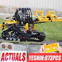 Neue Technik Auto RC Motor Loader Kompatibel Mit 42094 Verfolgt Loader Set Bausteine Ziegel Kinder Auto Modell Spielzeug